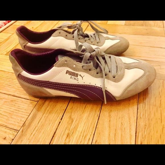 Puma Shoes | Classic Grey Purple And